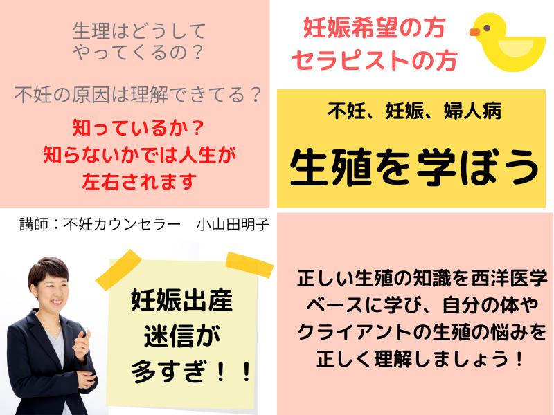 不妊カウンセラー小山田明子さんの講座